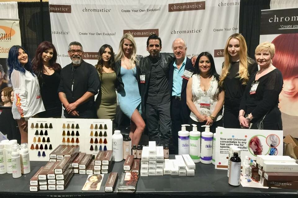 Colourwand at ISSE international hair show 2018